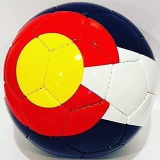 Kick It Co Colorado Flag Soccer Ball