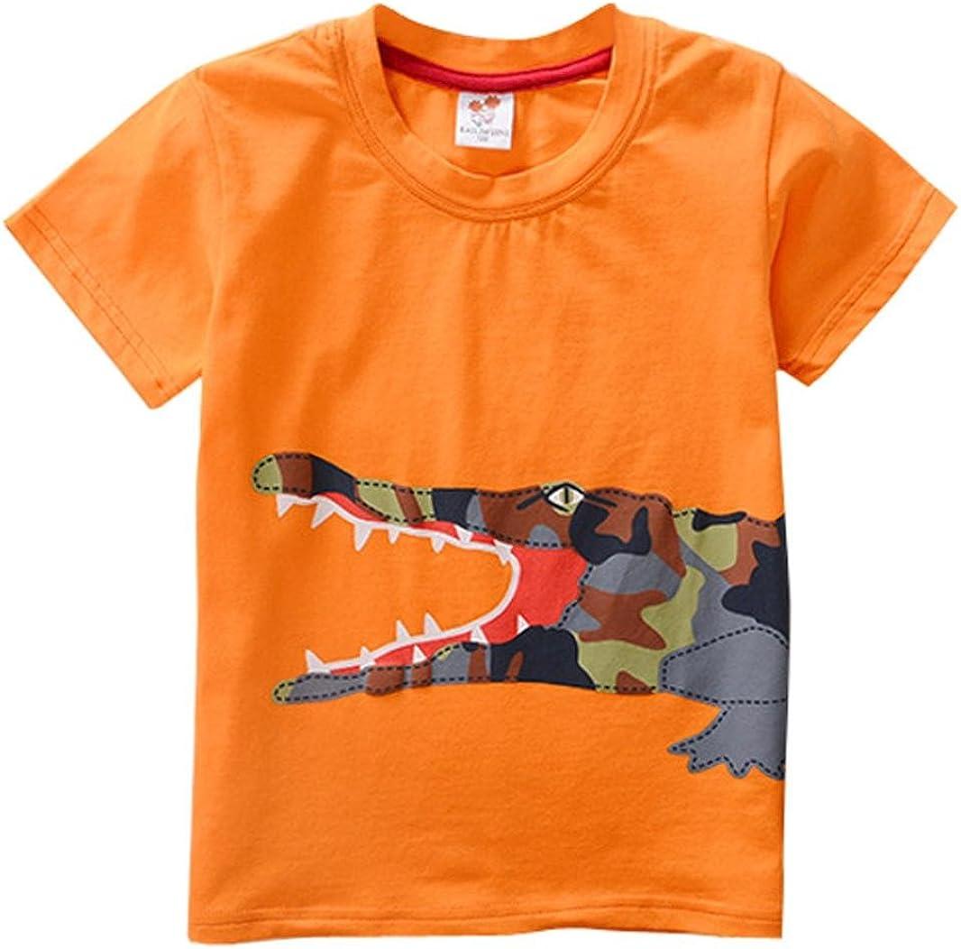Kinder T-Shirt Kurzarm Shirt Sommer Oberteil