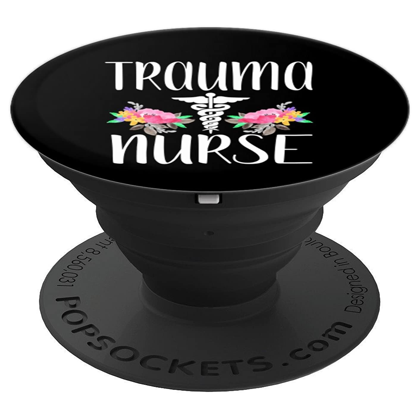 Trauma nurse phone gift - PopSockets Grip and Stand for Phones and Tablets