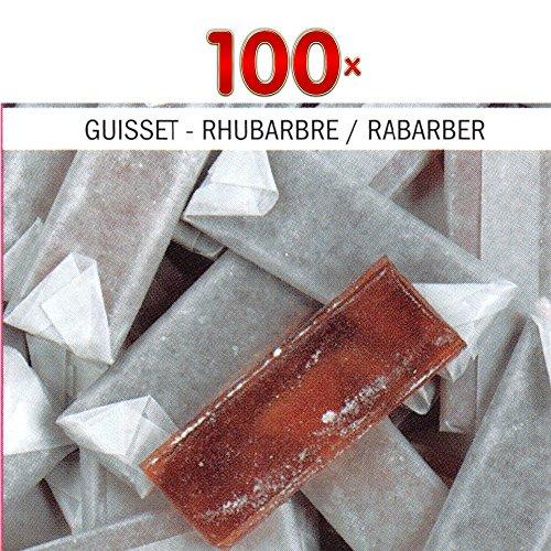 Super Sure Rhubarbe 100 Stck. Packung (Mini Zuckerstangen Rabarber)