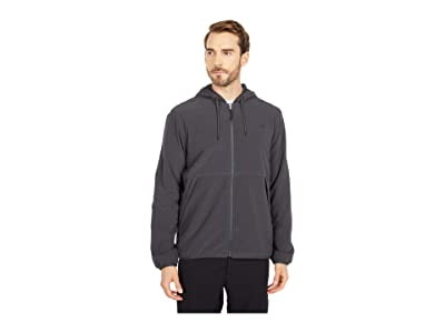 The North Face Mountain Sweatshirt Full Zip Hoodie (Asphalt Grey) Men