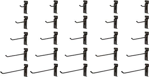 """25 Gridwall Hooks - 5 Each - 2"""",4"""",6"""",8"""",10"""""""
