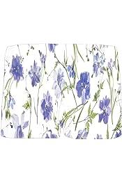 INTERESTPRINT Kids Purple Lotus with Yin Yang Symbol Comfortable Breathable Briefs 5T-2XL