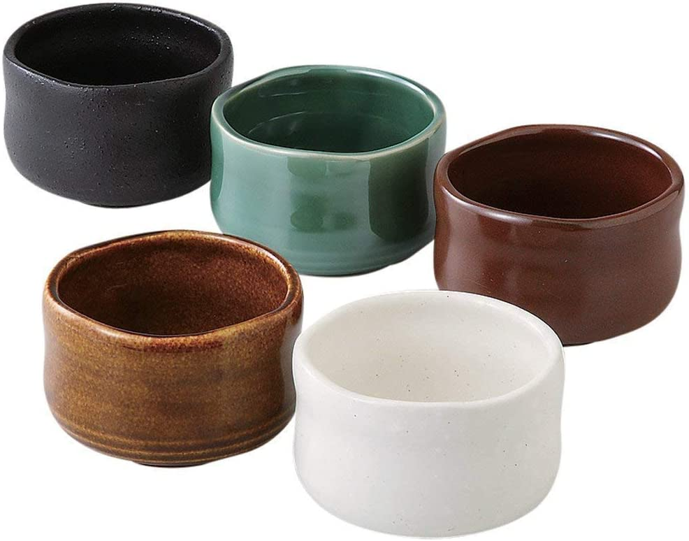 Set of 5 Small Bowl Matcha Max Selling and selling 45% OFF