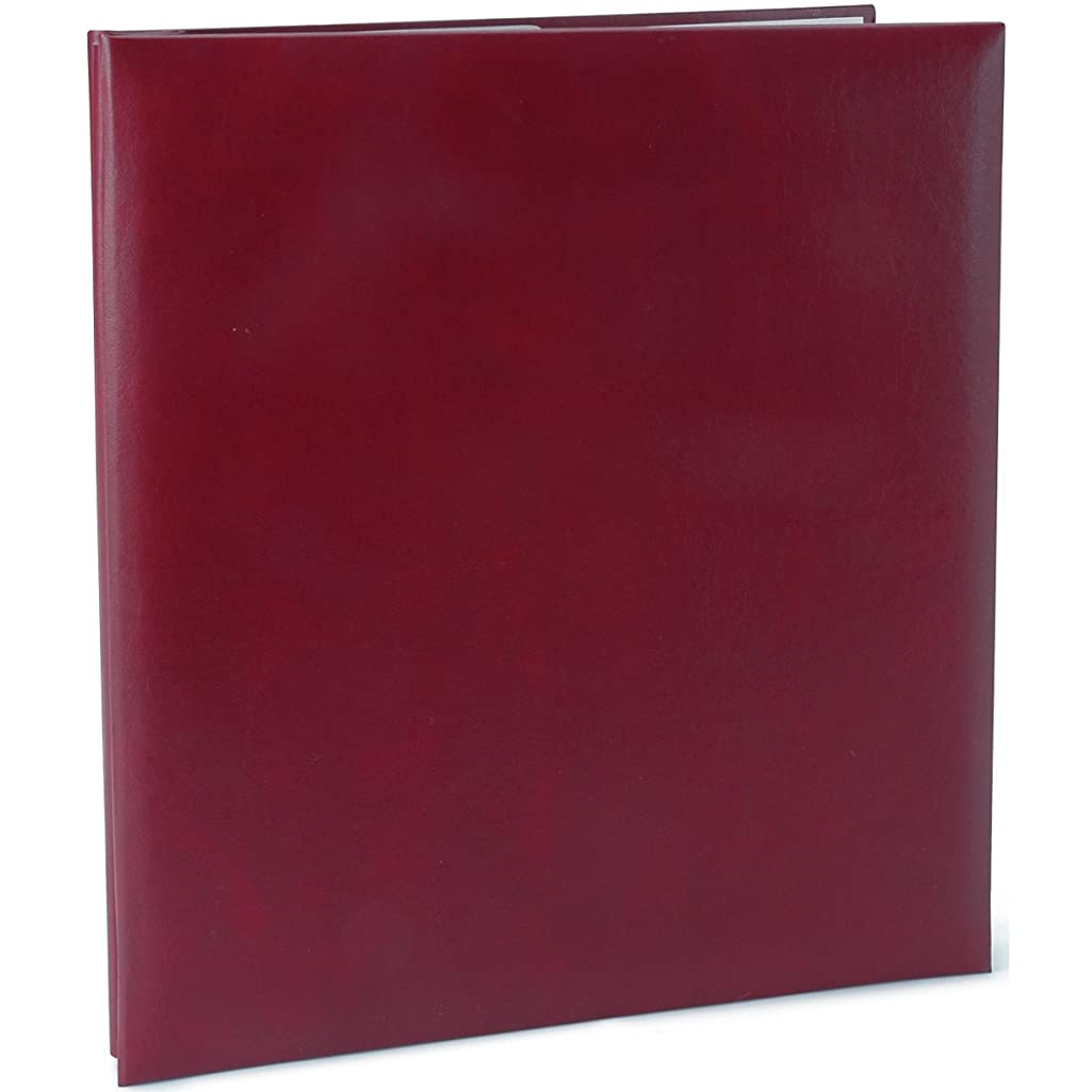 Pioneer MB811-60111 Leatherette Post Bound Album, 8.5 by 11-Inch, Burgundy