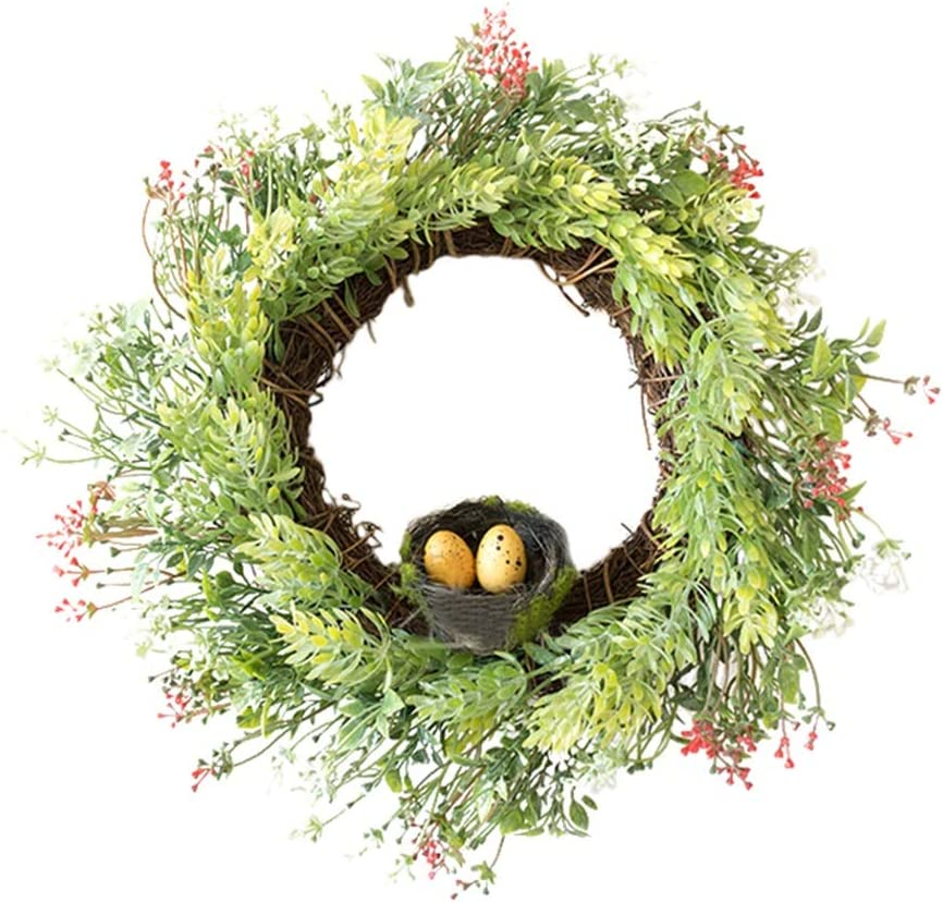 whl Hanging Wreath Max 63% OFF Artificial Plant Front D Max 60% OFF for Birdhouse