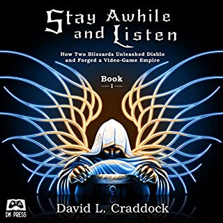Stay Awhile and Listen audiobook cover art