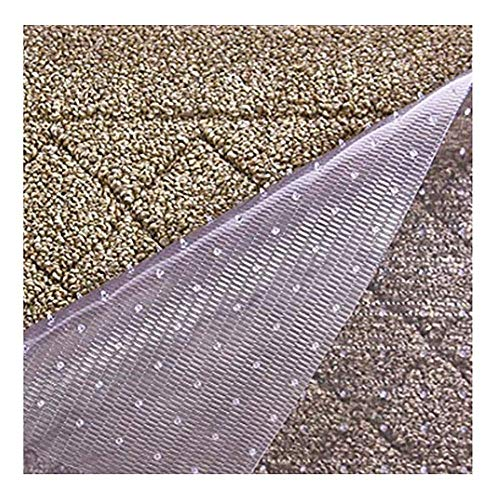 Resilia Premium Heavy Duty Floor Runner/Protector for Carpet Floors – Non-Skid, Clear, Plastic Vinyl, Clear Prism, 27 Inches x 6 Feet
