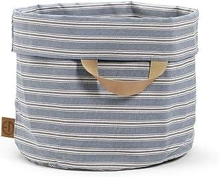 Elodie Details Förvaringskorg StoreMyStuff 45 x 47 cm - Sandy Stripe, Blå
