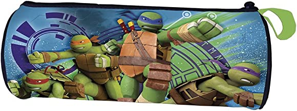 Tortugas Ninja Estuche portatodo cilindrico: Amazon.es ...