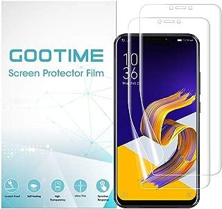 「改良型」Gootime Zenfone5フィルム Asus ZenFone 5z フィルム ゼンフォン5 フィルム Ze620kl 液晶保護フィルム ケースに優しい 衝撃吸収 極薄タイプ (Clear ZenFone 5)