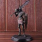 LJXGZY Dark Souls 3 Figuras de acción Sculpt Collection Vol.3 Black Knight PVC Colección Decoración Modelo Regalo de cumpleaños Estatua