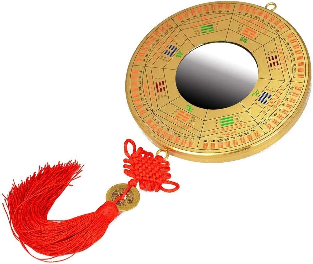 YAOLUU Gossip Mirror Desktop Ornaments Long-awaited Year-end annual account for Suitable Home Dec are