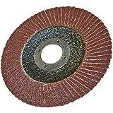 Silverline 675271 Disco Laminado de Óxido de Aluminio, 125 mm Diámetro, Grano 60