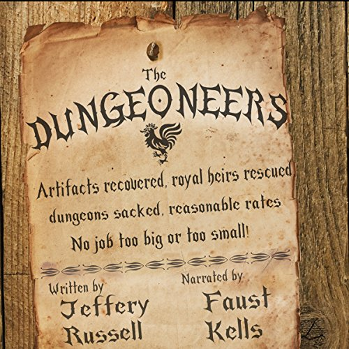 The Dungeoneers audiobook cover art