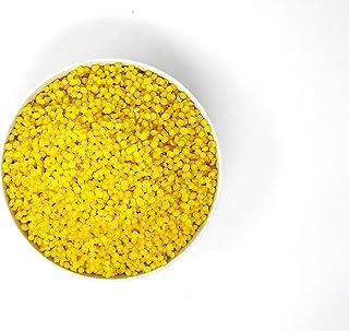 100g 100% Reine Bienenwachs Pastillen 100 Gramm 0,1kg | Perfekt geeignet für Kosmetik & Kerzen  Wachstücher Herstellung | 100% natur | deutsche Marke molinoRC