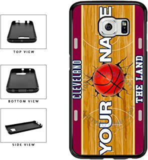 BleuReign(TM) Personalized The Land Custom Name Basketball Team Cleveland License Plate TPU RUBBER SILICONE Phone Case Back Cover For Samsung Galaxy S7 Edge