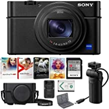 Sony RX100 VI 20.1 MP Premium Digital Camera with VCT-SGR1 Grip and Tripod
