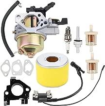 Hayskill GX390 Carburetor Carb Replace 16100-ZF6-V01 with Ignition Coil Fuel Filter Spark Plug for Honda GX390 GX 390 GX340 GX 340 11HP 13HP Engine Lawn Mower Tiller Cultivator