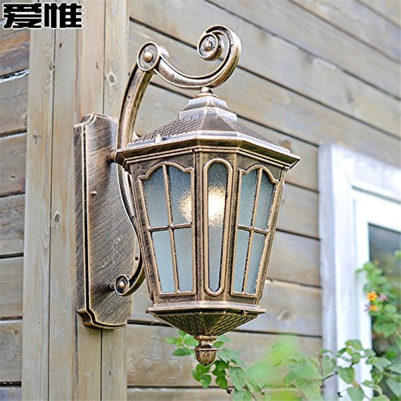 StiefelU LED Wandleuchte nach oben und unten Wandleuchten Liebe aber auen Wandleuchten wasserdicht Terrasse Light Bar off road Balkon led retro Garden Villa Auenleuchten (30  48 cm)