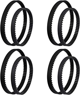 KEEPOW Replacement Belt Sets for Bissell ProHeat 2X, 203-6688 & 203-6804, 4 Set