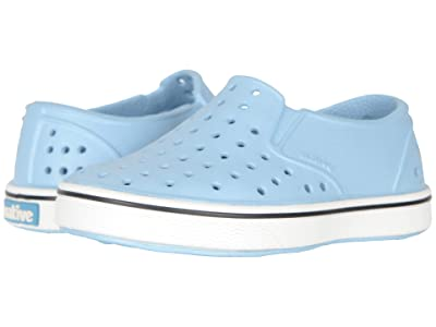 Native Kids Shoes Miles Slip-On (Toddler/Little Kid) (Sky Blue/Shell White) Boys Shoes