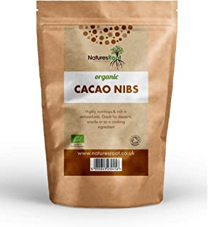 Natures Root biológico Cacao Nibs–La Criollo Art   fabricada de los Excelentes tigsten granos de cacao   Super Antioxidant