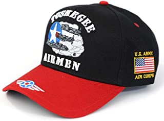 Tuskegee Airmen 332nd Fighter Group Adjustable Cap Black