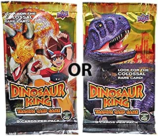 Dinosaur King Trading Card Game Booster Pack