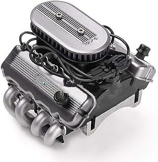F-MINGNIAN-TOOL, 1 Juego de simulación F76 427 SOHC V8 Motor del Ventilador del radiador del Motor Kit for 1/10 TRAXXA TRX4 TRX6 G500 SCX10 D90 VS4 RC orugas Actualiza Piezas