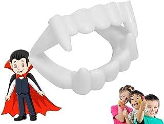 Vampierbit - geschikt voor kinderen - stabiel & ongevaarlijk - vampiertanden Halloween Dracula Vampierbit om op te klikken...