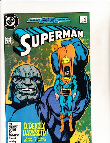 Superman comic book 'O, Deadly Darkseid' - No. 3, Mar 1987