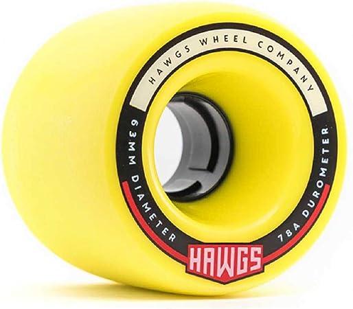 Hawgs Chubby Roues de Longboard Orange//Blanc 60 mm 78a