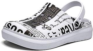 FDSVCSXV Zapatos de Agua sin Deslizamiento Cocina Liviana de jardín al Aire Libre Patio de Playa con Ducha Sandalias de Ve...