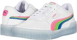 Puma White/Fluo Pink/Dazzling Blue