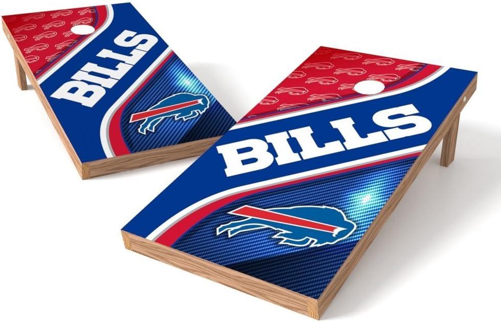PROLINE NFL Buffalo Bills 2'x4' Cornhole Desig Board NEW before selling Swirl Max 63% OFF Set -