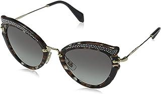 230e1537b5 Miu Miu 0MU05SS 79A3M1 52 Gafas de Sol, Marrón Havana/Brown/Grey,