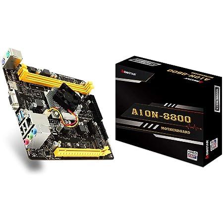 BIOSTAR A10N-8800EV6.1 AMD FX-8800P オンボードCPU Mini-ITX マザーボード [国内正規代理店品]
