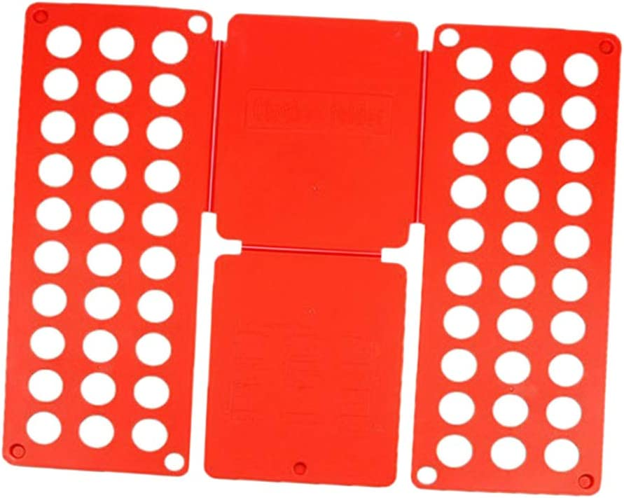 Max 88% OFF Baltimore Mall Gazechimp Adjustable T-Shirt Clothes Fast Folder Folding Board L