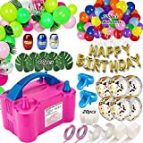 Best Balloon Set With Pumps - Balloon Pump, Portable Dual Nozzle Ballon Inflator Pump Review