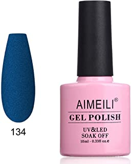 AIMEILI Soak Off UV LED Matte Gel Nail Polish - Festuca Glauca (134) 10ml