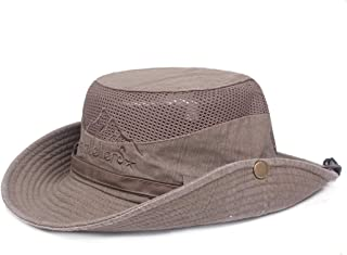 Cappello estivo per uomo anziano Trihedral-X piccolo cappello di paglia cappello da sole in lino