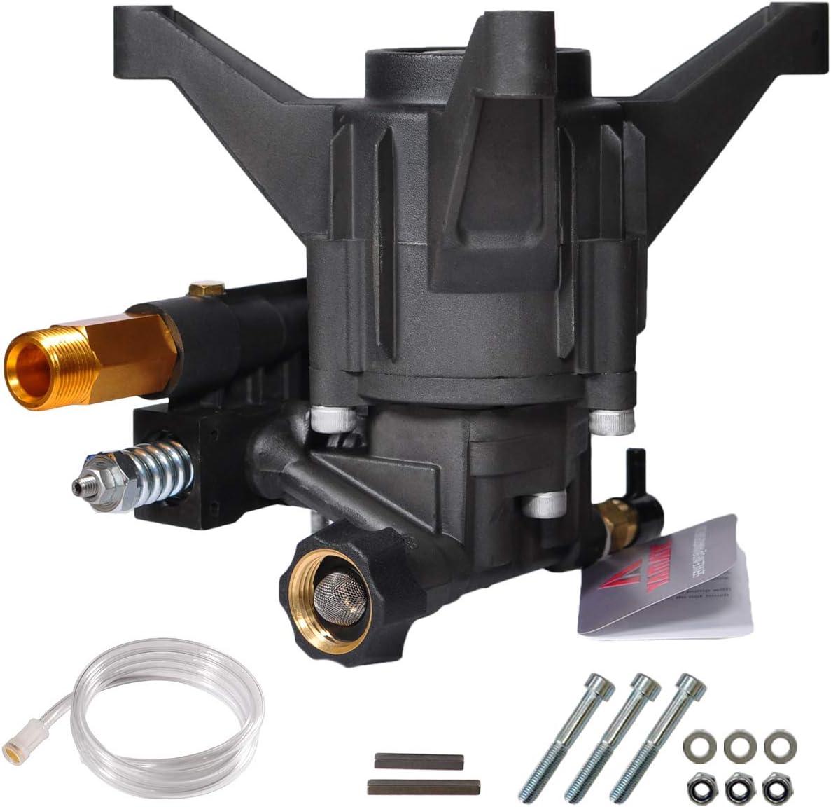 YAMATIC 2600-2800 PSI NEW Pressure Washer Pump Rear 発売モデル 送料無料 Outl GPM 2.3
