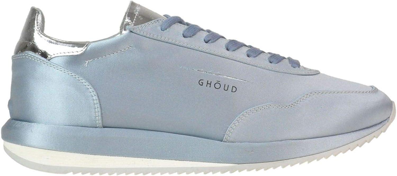 GHOUD Women's MCGLCAK000005128E Light bluee Leather Sneakers