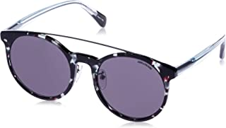 Zadig & Voltaire Men's SZV144G Oval Sunglasses Multi 55 mm