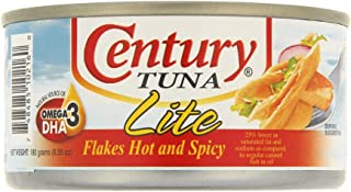 Century Tuna Flakes Hot And Spicy Lite - 180 gm