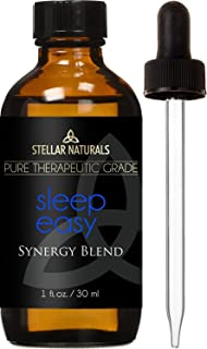 Stellar Naturals Good Night Sleep Essential Oil - 100% Pure Calming and Natural Therapeutic Grade for Natural Sleep Aid, Relaxation, Stress, Anxiety Relief, Boost Mood with Aromatherapy 30ml