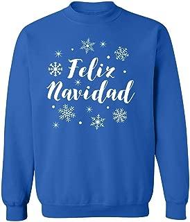 ZeroGravitee Feliz Navidad Crewneck Sweatshirt
