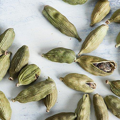 『神戸アールティー グリーンカルダモンホール 20g Green Cardamon Whole カルダモン 原型 スパイス ハーブ 香辛料 調味料 製菓材料 業務用』の1枚目の画像