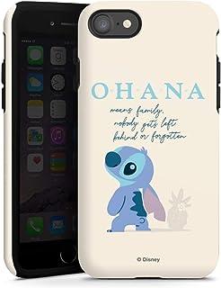Toughcase compatibel met Apple iPhone SE (2020) Bumper Hoesje Telefoonhoesje Lilo & Stitch Officieel licentieproduct Disney